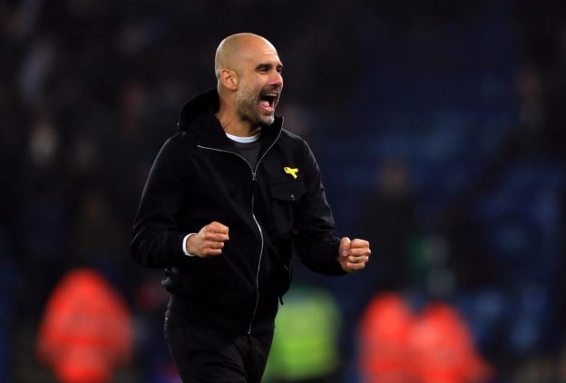 Manajer Manchester City Pep Guardiola. (foto: int)